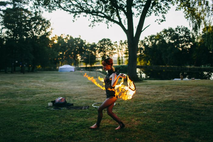 fire performer FIAB