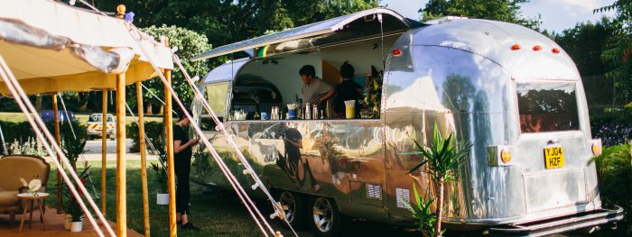 Prairie rose airstream bar