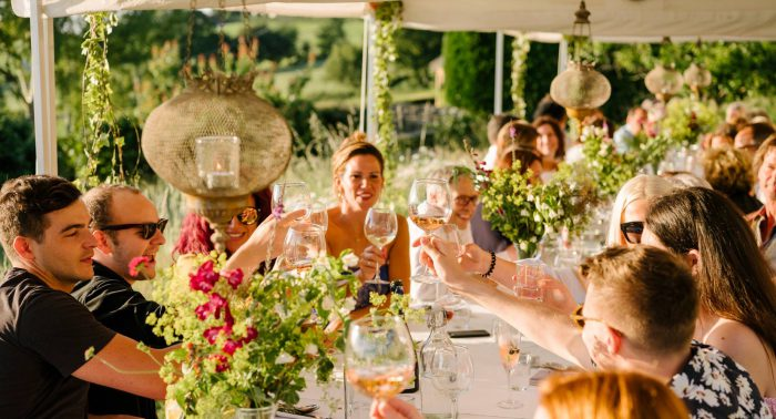 summer dinner party events