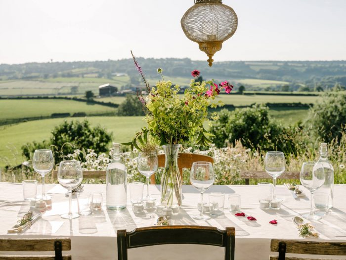 dinner party with view events
