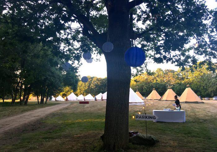 campsite private party