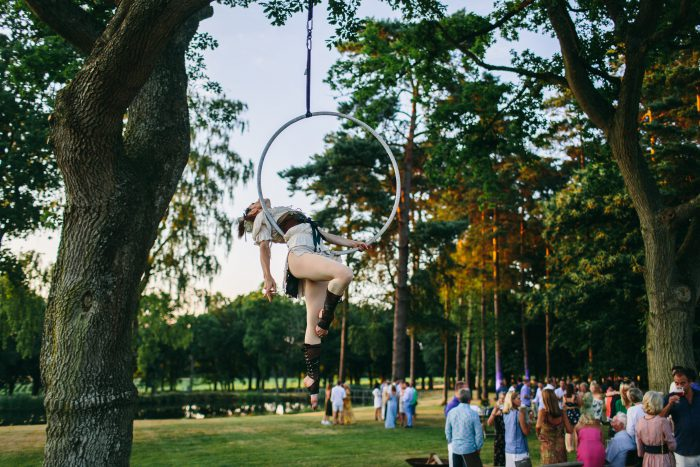 aerial hoop tree events